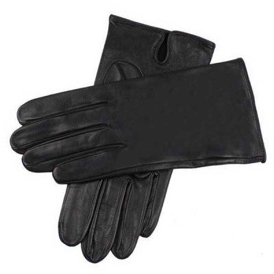 Dents James Bond - Skyfall Leather Gloves - Unlined Black Leather