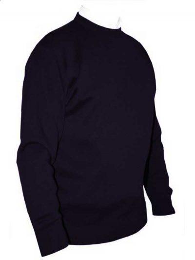 Franco Ponti Crew Neck Sweater - Purple