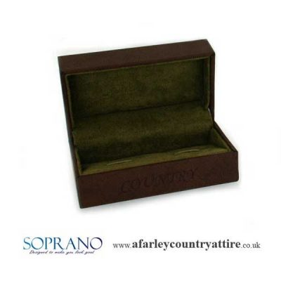 Presented in a Brown Counry Cufflink giftbox
