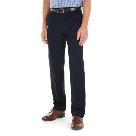 Gurteen Trousers - Cologne Stretch Flannel - Navy