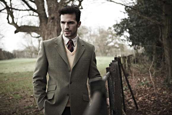 Get The Look: Country Gents Compton Tweed Blazer by Alan Paine