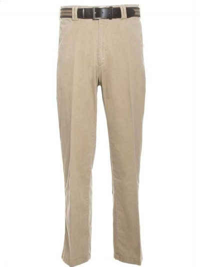 Gurteen Trousers - Longford Stretch Chinos - Stone