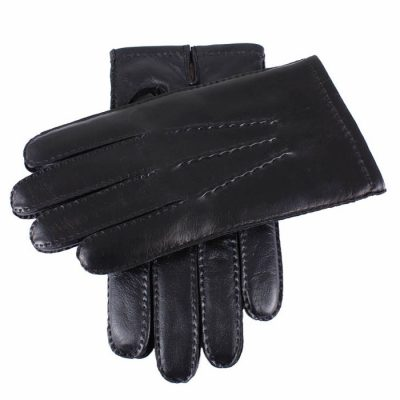 Dents-Mens-Black-Leather-Touchscreen-Technology-Gloves
