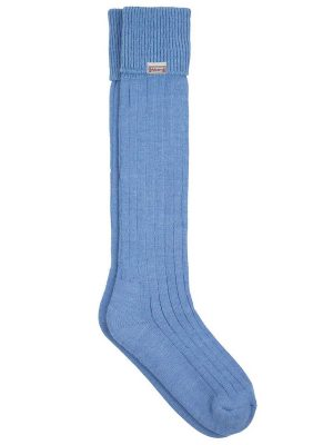 DUBARRY Alpaca Wool Socks - Sky
