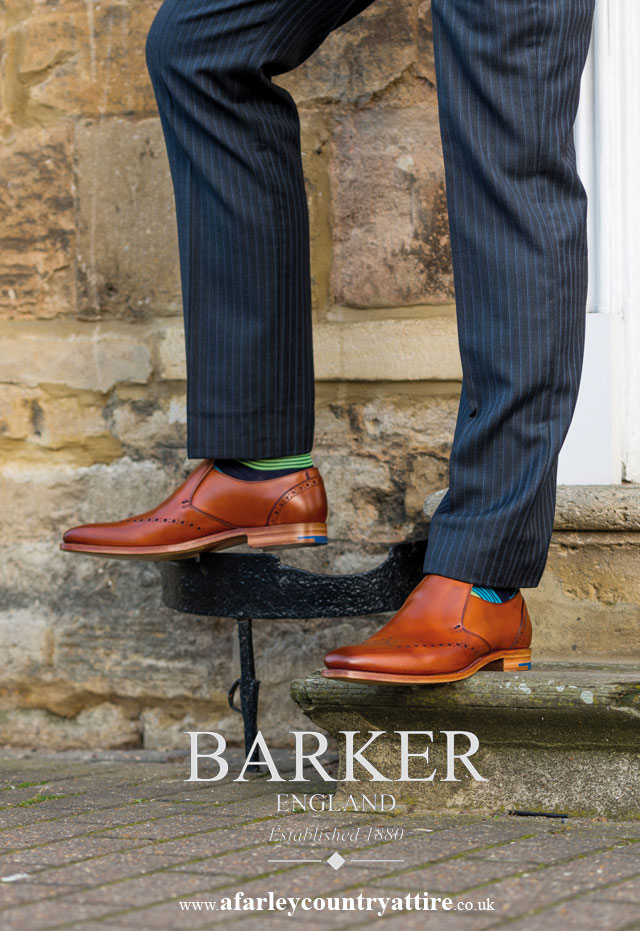 Get The Look: Bourne Slip on Brogue by Barker Shoes