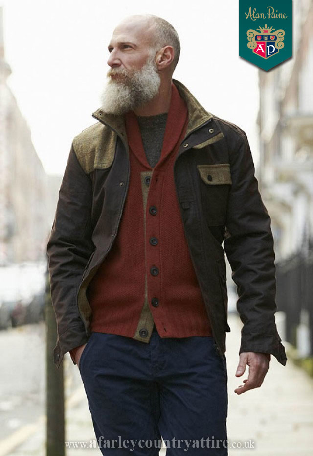 Get The Look: Explorer Cotton Wax Quilt Jacket by Alan Paine