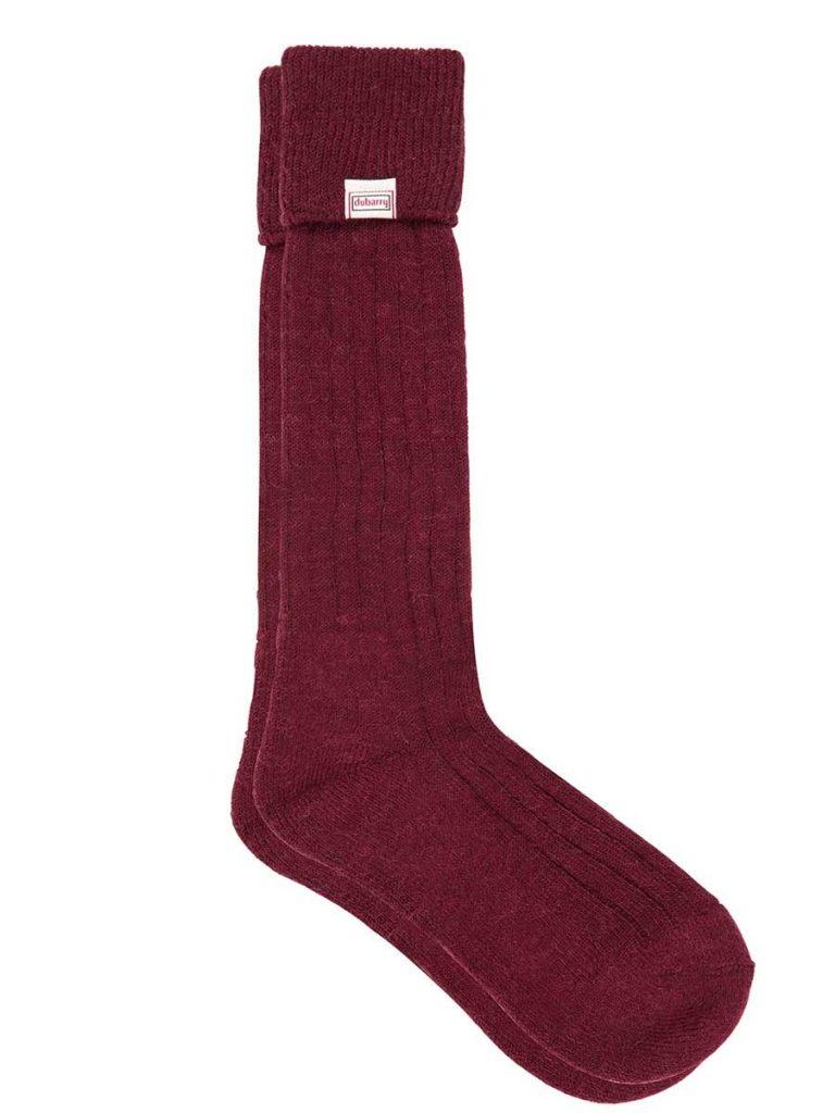 DUBARRY Alpaca Wool Socks - Malbec