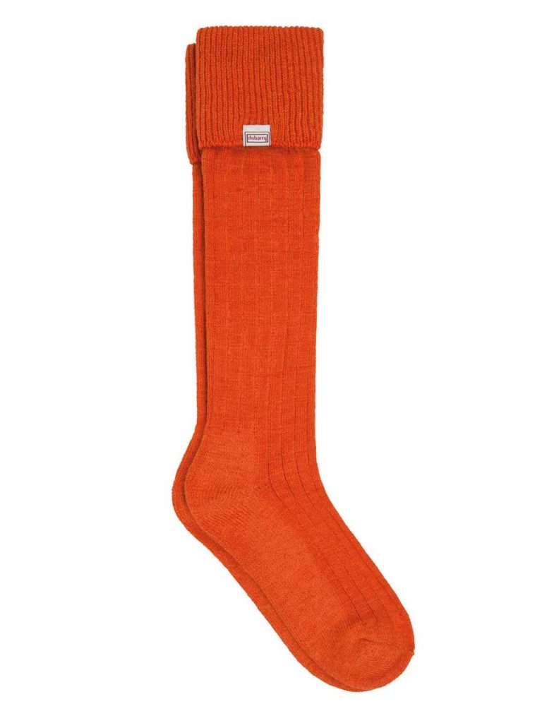 DUBARRY Alpaca Wool Socks - Terracotta