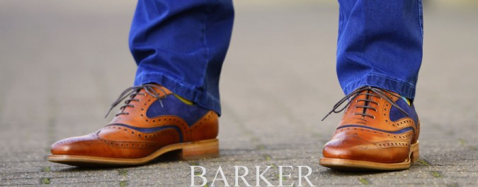 Get The Look: McClean Two Tone Brogues by Barker Shoes