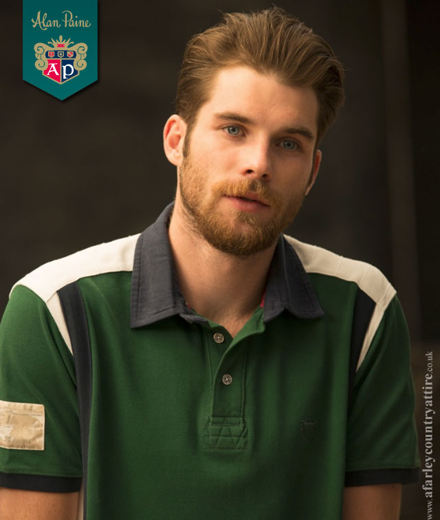 Get The Look: Racing Green 2 Stripe Polo Shirt by Alan Paine
