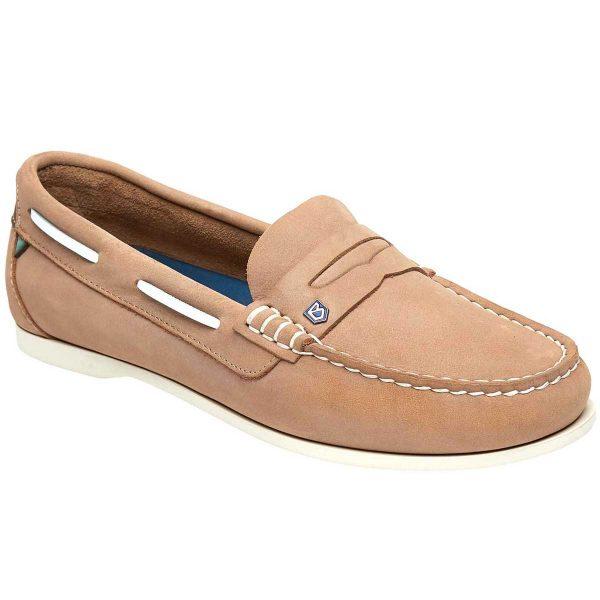 Dubarry Belize Deck Shoes - Ladies - Beige