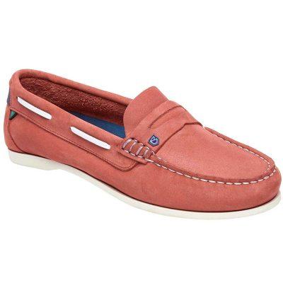 Dubarry Belize Deck Shoes - Ladies - Coral