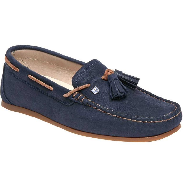 Dubarry Jamaica Deck Shoes - Ladies -Navy
