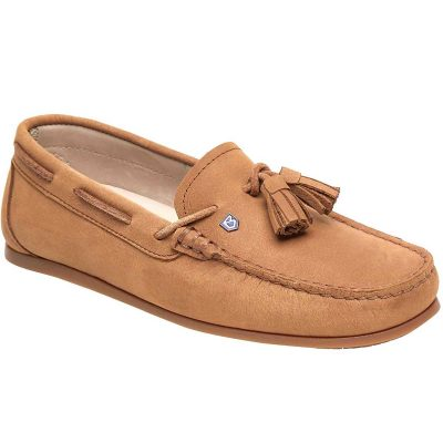 Dubarry Jamaica Deck Shoes - Ladies -Tan
