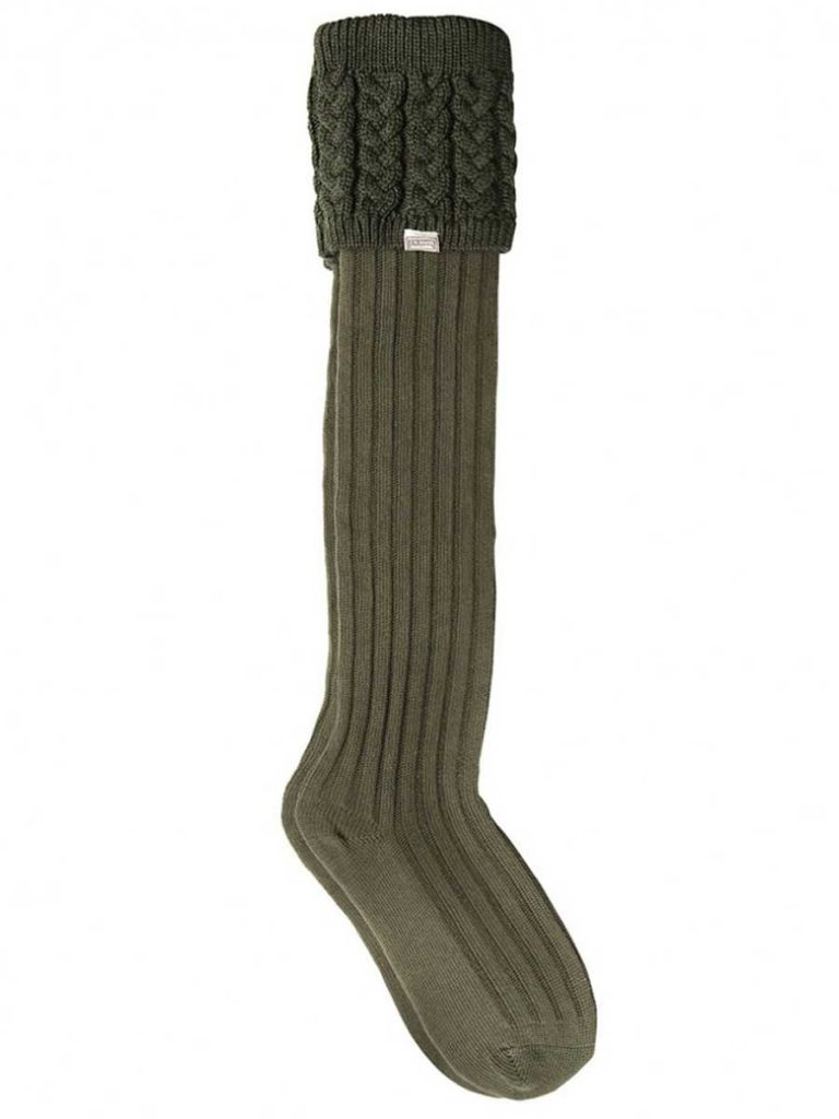 DUBARRY Trinity Luxury Knitted Boot Socks - Olive