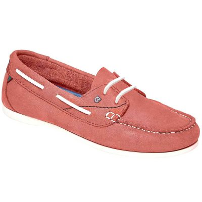 Dubarry Aruba Deck Shoes - Ladies Coral
