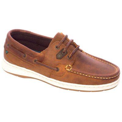 Dubarry Auckland Deck Shoes - Ladies Brown