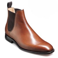 Barker Shoes - Eskdale Chelsea Boots - Wide-Fit - Walnut Calf