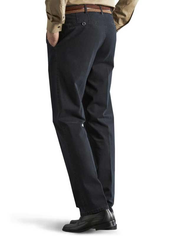 Meyer Denim Trousers - Roma 629 Stretch Core Spun - Navy