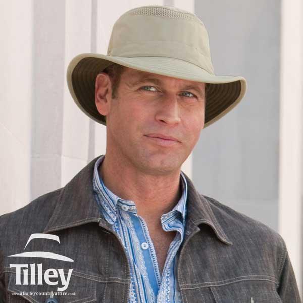 Tilley Hats - LTM5 AIRFLO® - Khaki with Olive Underbrim