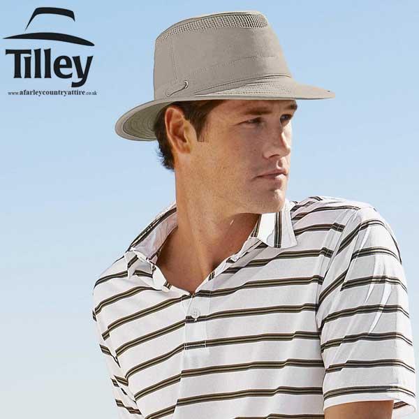 Tilley Hats - T5MO Organic Cotton AIRFLO® - Khaki   Olive 209de0bdb9b