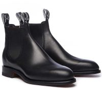 RM Williams Dynamic Flex Comfort Craftsman Boots - Black
