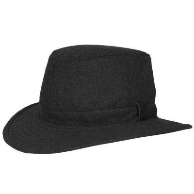 Tilley Hats - TTW2 Tec-Wool Tweed Hat - Black