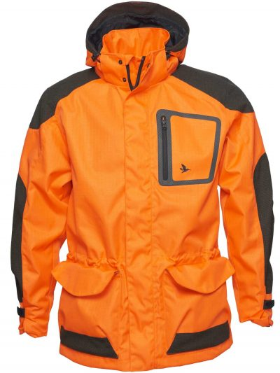 SEELAND Jacket - Mens Kraft Hi-Vis - Orange