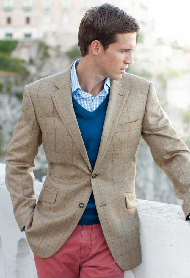 Get The Look: Tweed Jackets by Brook Taverner