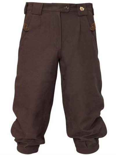ALAN PAINE - Ladies Berwick Waterproof Breeks - Brown