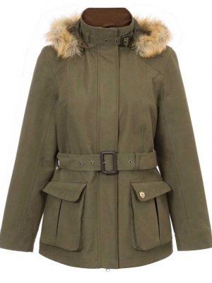 ALAN PAINE - Ladies Berwick Waterproof Jacket - Olive