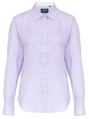 ALAN PAINE - Ladies Bromford Shooting Shirt - Lilac
