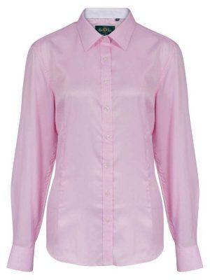 ALAN PAINE - Ladies Bromford Shooting Shirt - Pink
