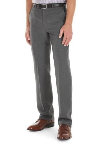 GURTEEN Trousers - Cologne Formal Stretch Flannels- Granite