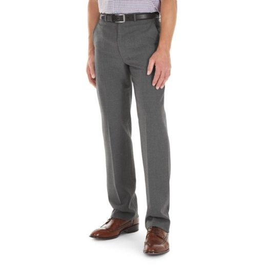 Gurteen Trousers - Cologne Stretch Flannel - Granite