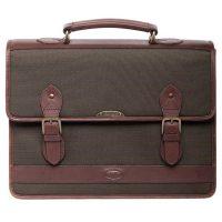 Dubarry Belvedere Leather Brief Bag Olive