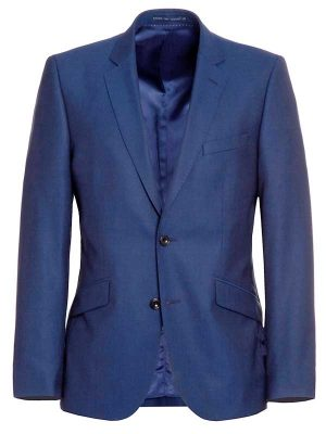 Magee Three Piece Suit - Cobalt Blue - Tailored Fit