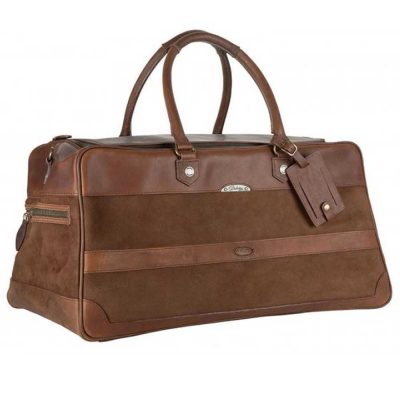Dubarry Durrow Leather Weekend Bag Walnut