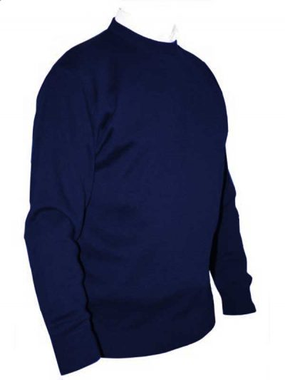 Franco Ponti Crew Neck Sweater - Cobalt Blue