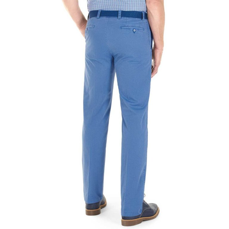 Gurteen Trousers – Longford Summer Stretch Chinos – Air Force Blue