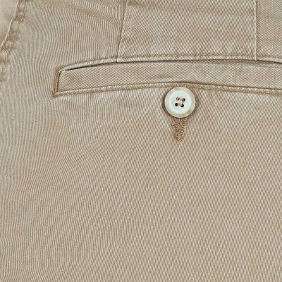 Gurteen Trousers - Longford Summer Stretch Chinos - Stone