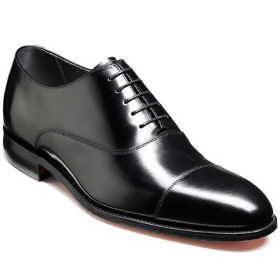 NEW!! Barker Shoes - Winsford - Black Polish
