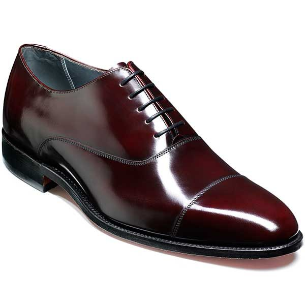 NEW!! Barker Shoes - Winsford - Burgundy Polish