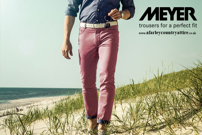Get The Look: New Spring / Summer Meyer Trousers