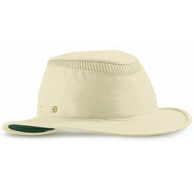 Tilley Hats - LTM5 AIRFLO® - Natural with Green Underbrim