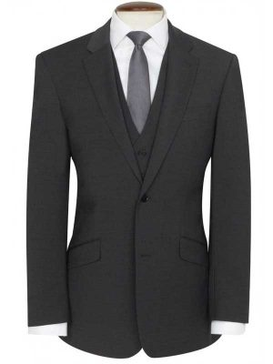 Brook Taverner - Charcoal Travel Suit - Avalino - Tailored Fit