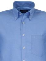 Seidensticker Shirts - Button Down Collar - Blue