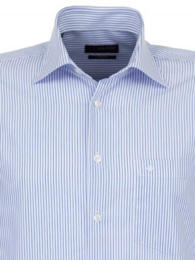 Seidensticker Shirts - Fine Blue Stripe - Splendesto Cotton