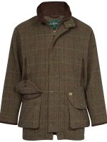 Alan Paine - Compton Waterproof Shooting Coat - Peat