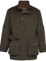 Alan Paine - Loden - Waterproof Wool Coat - Olive